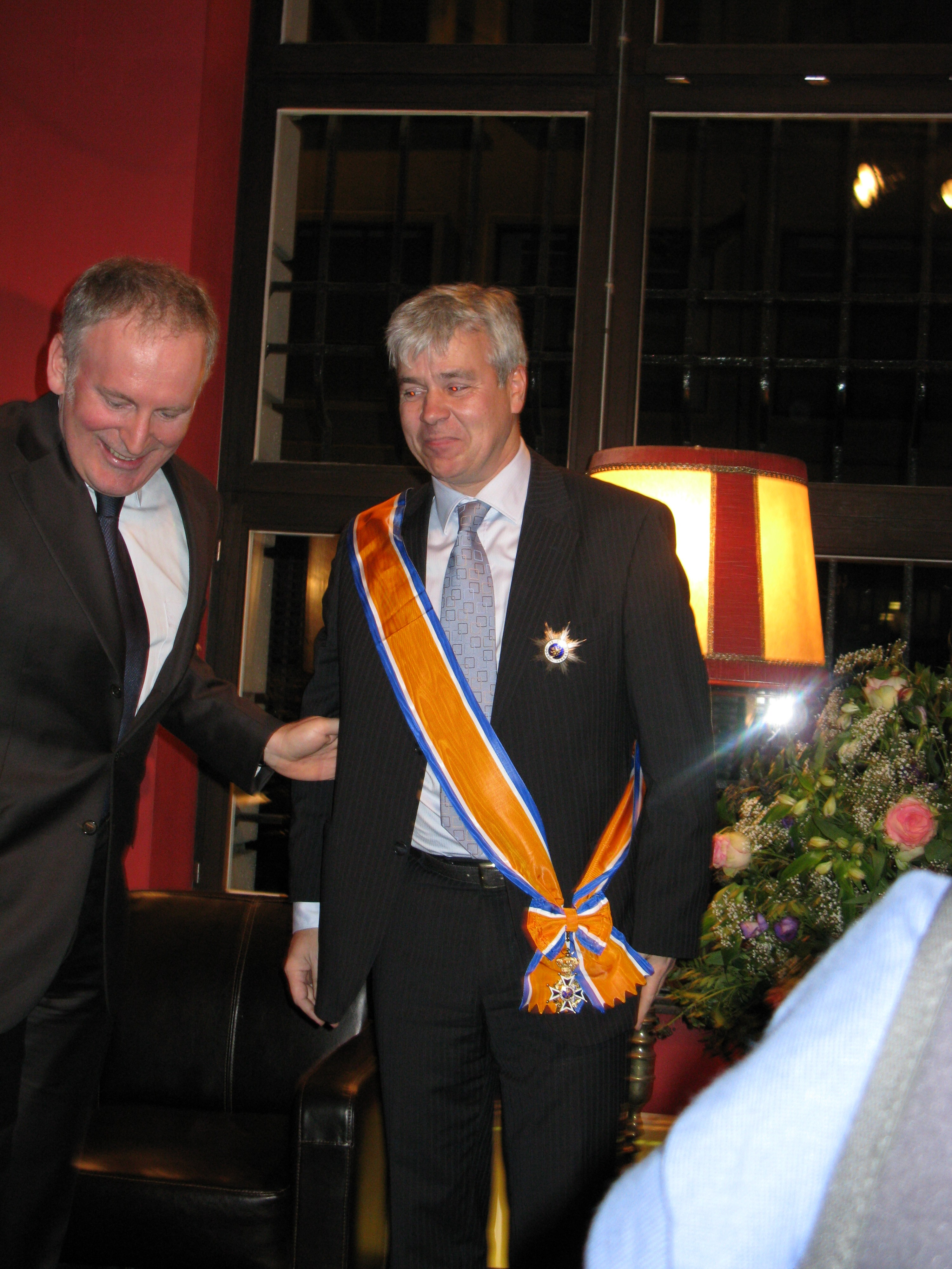 Bert Anciaux wordt ridder