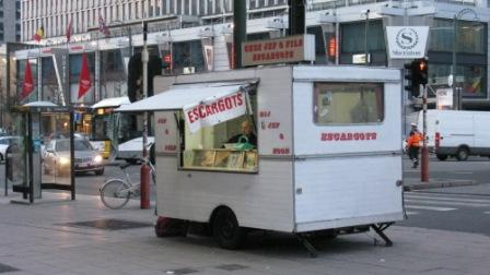 Staat onze Bourgondier Laurent hier straks escargots te verkopen?